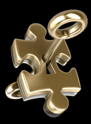 gouden puzzle